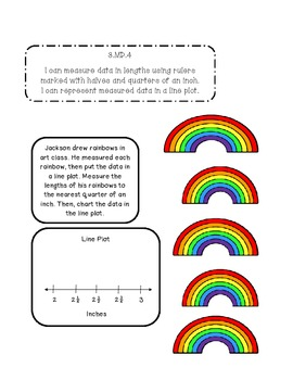 3rd Grade March Interactive Math Journal (Common Core Aligned)