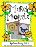 Lion & Lamb Interactive March Mobile Craftivity & Accordion Fold Book