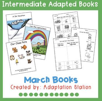 March Intermediate Adapted Books