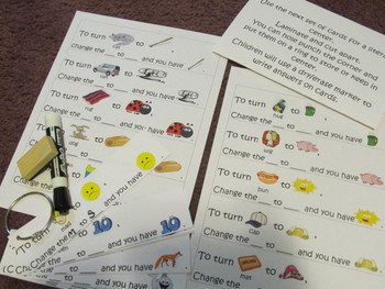 March Is Magic~ Phoneme Substitution ~ Literacy Centers