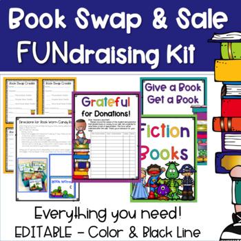 PTO PTA FUNdraising Book Sale & Swap Kit