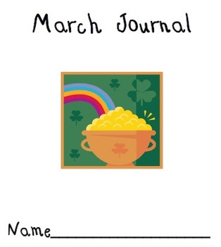 March Journal Cover