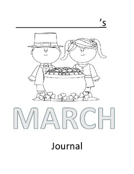 March Journal Cover Page