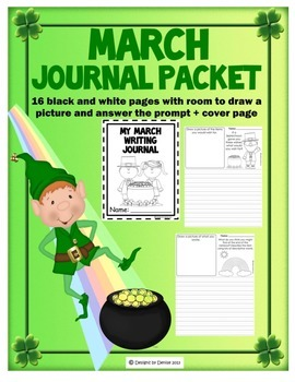 March Journal Packet