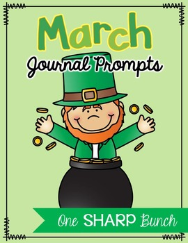 March Journal Prompts - No Prep Writing Center