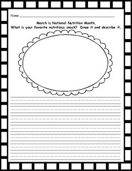 March Journal Prompts-Ready to Print Writing Prompts