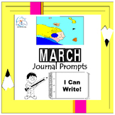 March Writing Prompts Quick Writes