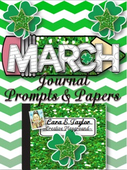March Journal Prompts and Papers