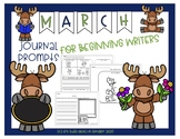 March Journal Prompts for Beginning Writers