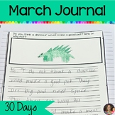 March Journal Writing   Writing Prompts