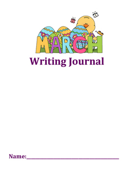March Journal Writing