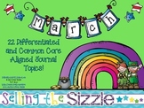 March Journals-22 Differentiated and Common Core Aligned Topics