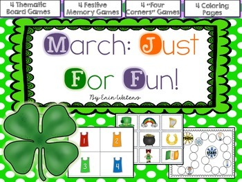 March: Just For Fun! (Class, Group & Partner Activities)