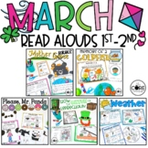 March K-1 Bundle: Interactive Read-Aloud Lesson Plans Curriculum