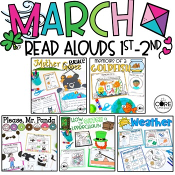 March Interactive Read-Alouds   Distance Learning   for Google Slides