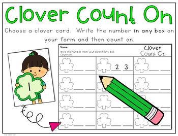 March Kindergarten 20 Centers (Math and Literacy)