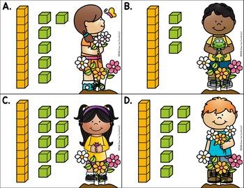 March Kindergarten Centers - Math