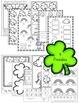 March Kindergarten Math & Literacy Pack (St. Patrick's Day, Rainbows, Kites)
