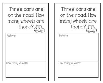 March Kindergarten Math Journal