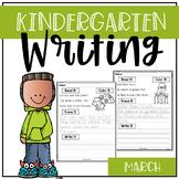 March Kindergarten Writing