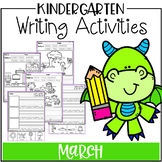 March Kindergarten Writing Activities