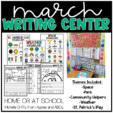 March Kindergarten Writing Center - Distance Learning and