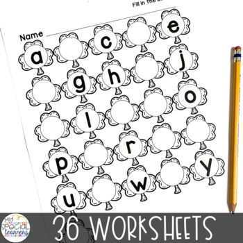 March Language Arts Printables for Special Education