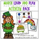 March Learn and Play Activity Pack- A 2-3 Year Old Standards Based Guide