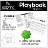 March Learning Activities-Preschool