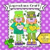 St. Patrick's Day Craft, Leprechaun Boy and Girl!