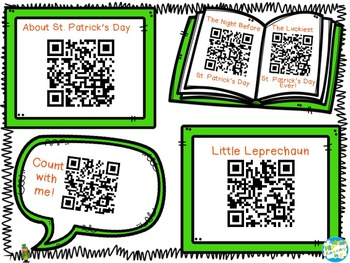March Leprechaun QR Codes