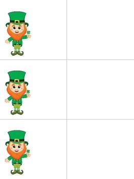 March Leprechaun Sight Word Game - Pre-Primer / Pre-K Words