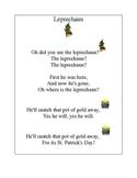 March Leprechaun poem