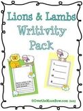 March Lions & Lambs Writivity Pack