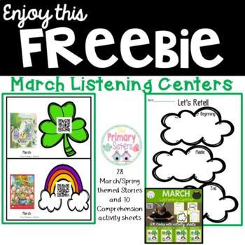 March Listening Center Freebie