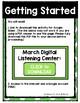 March Listening Center GOOGLE CLASSROOM EDITION