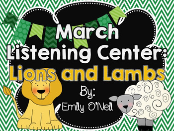 March Listening Center - Lions and Lambs