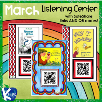 March Listening Center with SafeShare QR Codes & Links
