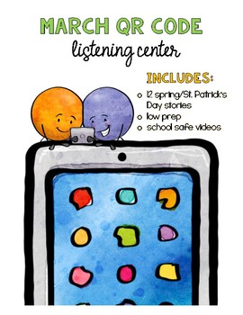 March QR Code Listening Centers