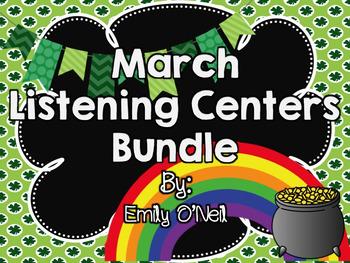 March Listening Centers Bundle