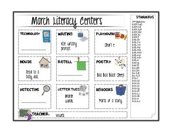 March Literacy Center