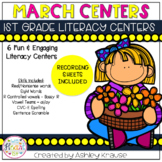 March Literacy Centers - 1st Grade