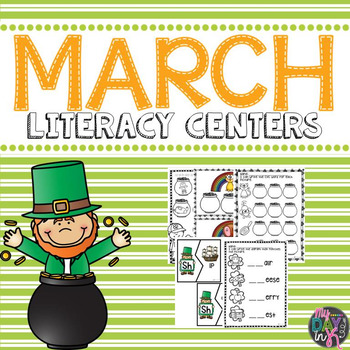 March Literacy Centers