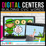 March Literacy Centers Digital Literacy Centers | CVC Word