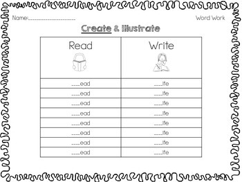 {20} March Literacy Stations