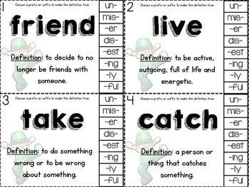 March Literacy Stations