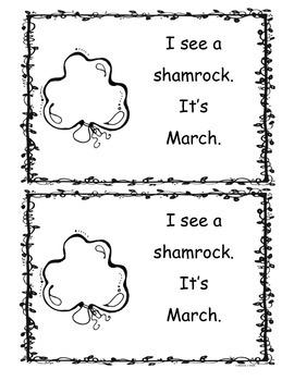 March Little Reader Book