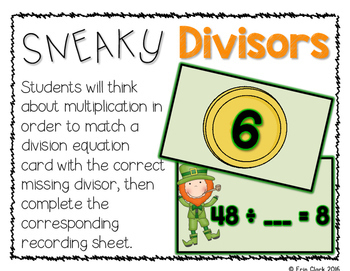 March MATHness! {5 St. Patrick's Day Themed Math Centers}