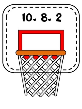 March MATHness / March Madness Fact Families