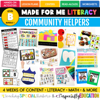 February: Community Helpers (Made For Me Literacy)